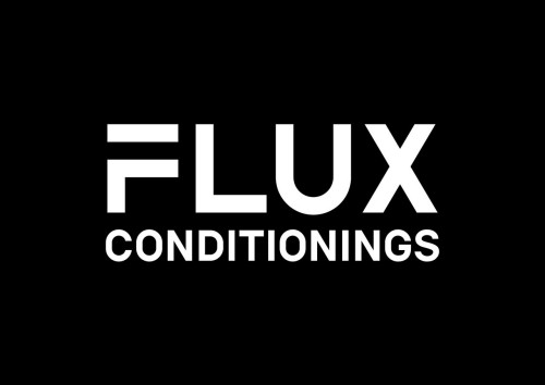FLUX CONDITIONINGSロゴ(黒)