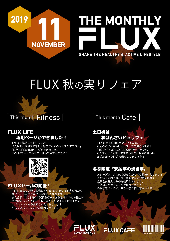 MonthlyFLUX201911